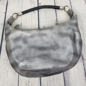 DANA BUCHMAN   snake print hobo shoulder bag